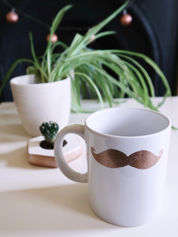 DIY Mug with a Moustache by Isoscella