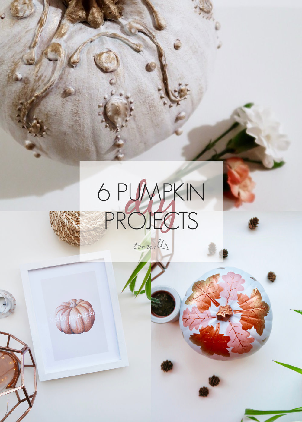 6 Pumpkin Projects by Isoscella