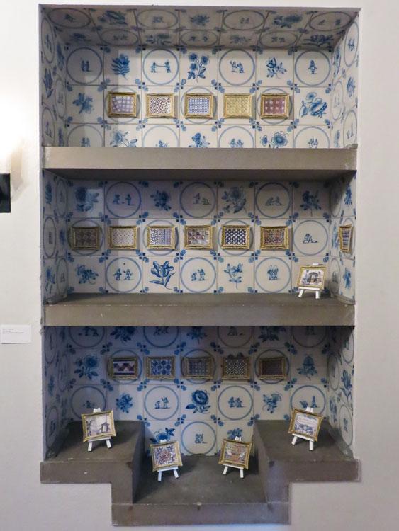 Tile Museum I   2015 digital print on paper