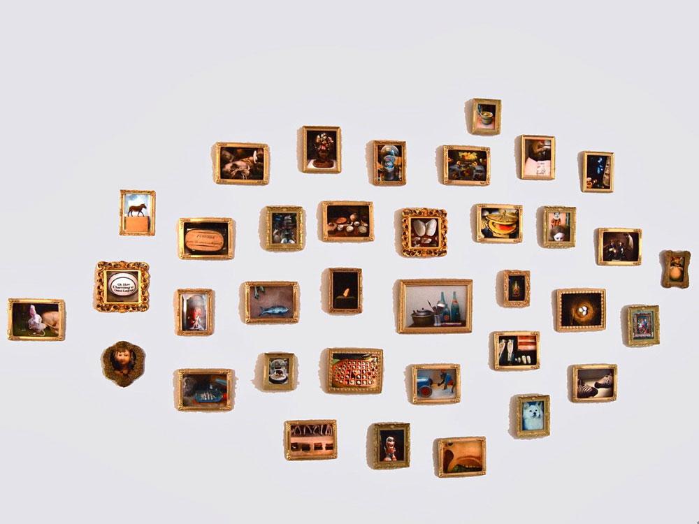 Museo della Natura Morta I    2012 Digital prints in dollhouse frames
