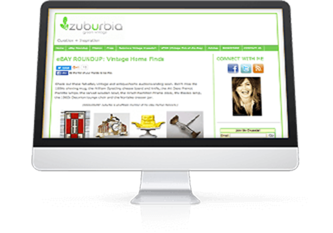 """""""Mit EPN kann ich mit Blogs mithalten, die ein Marketing-Budget von 100.000 Dollar haben! Die Möglichkeiten, zu wachsen und Werte zu schaffen, sind einfach grandios.""""   Mary Kincaid Founder   Zuburbia.com"""