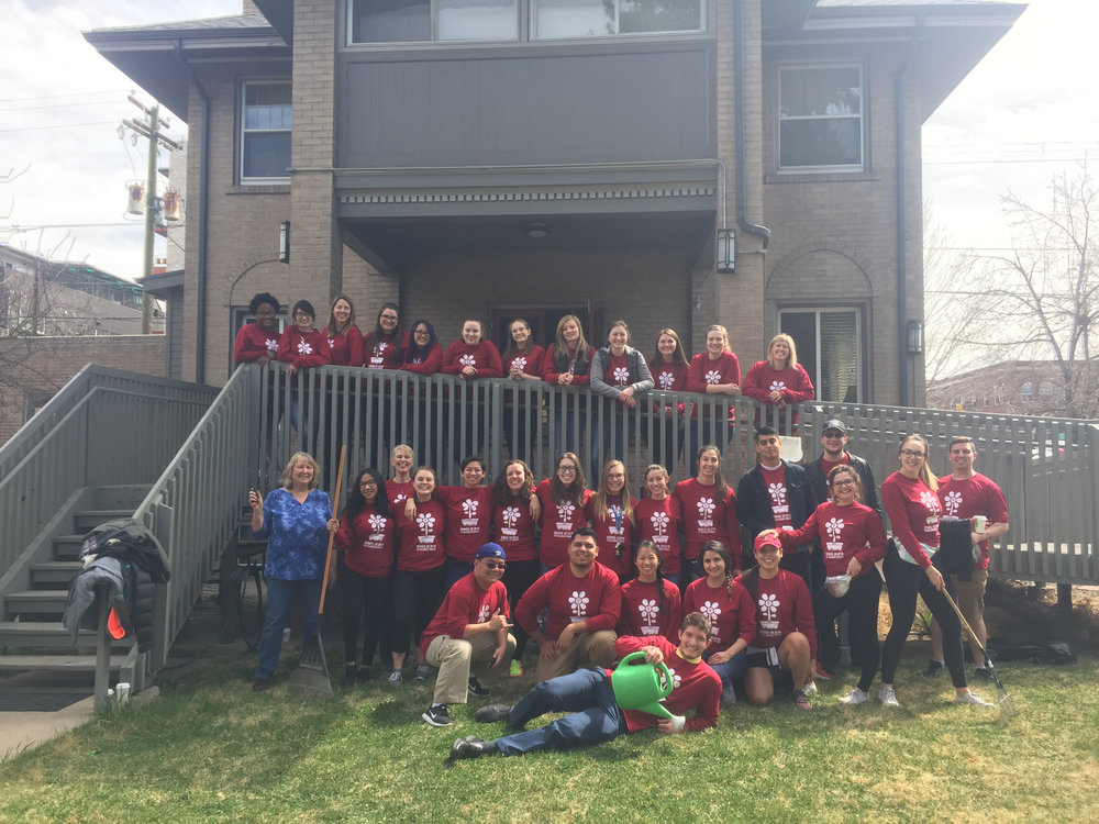 Psi Chi Service Project in Denver, 2018