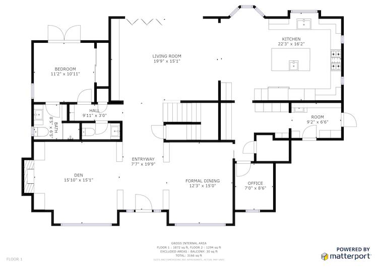 3 Bedroom | 3.5 Bath w/ Den | 3,602 sq. ft.