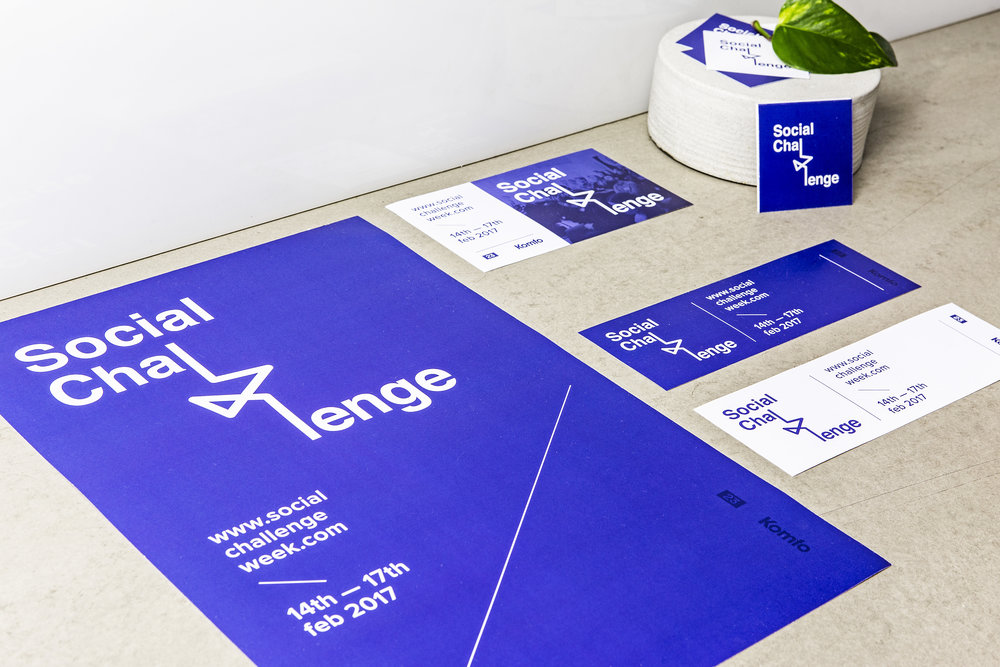 SOCIAL CHALLENGE WEEK Visual Identity