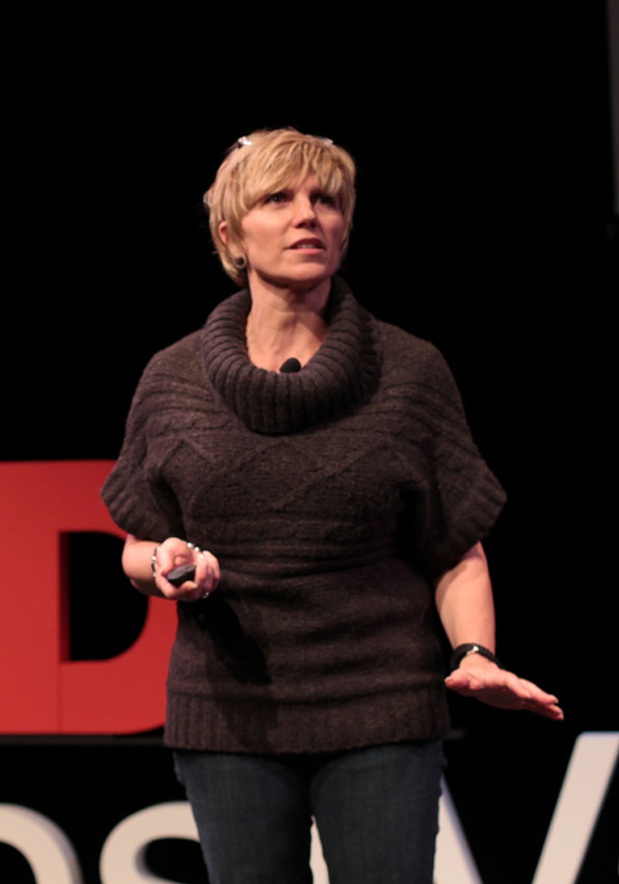 KATY SPEAKING AT TEDXWESTVANCOUVERREd