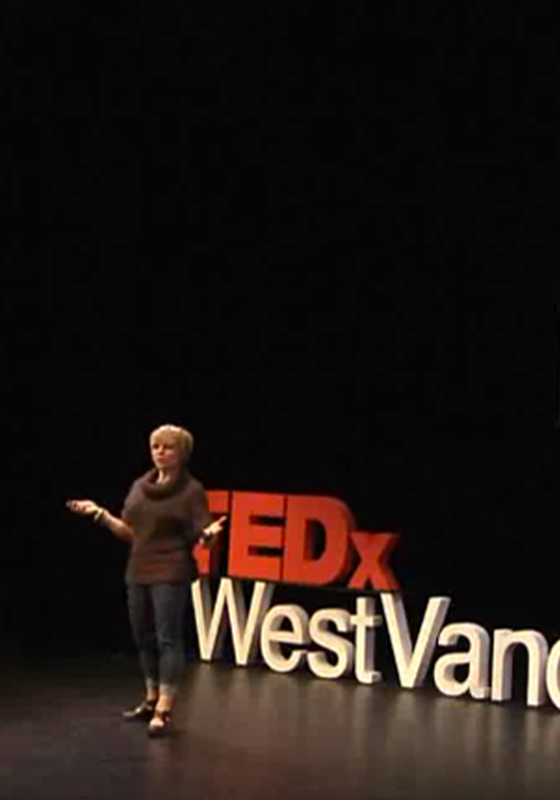 KATY SPEAKING AT TEDXWESTVANCOUVER