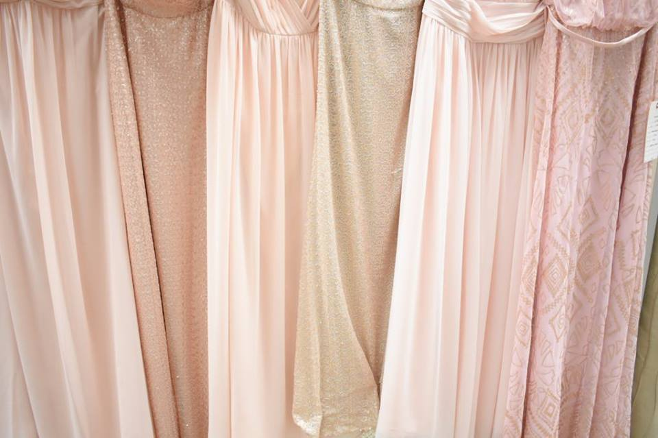 Blush with mixed textures!