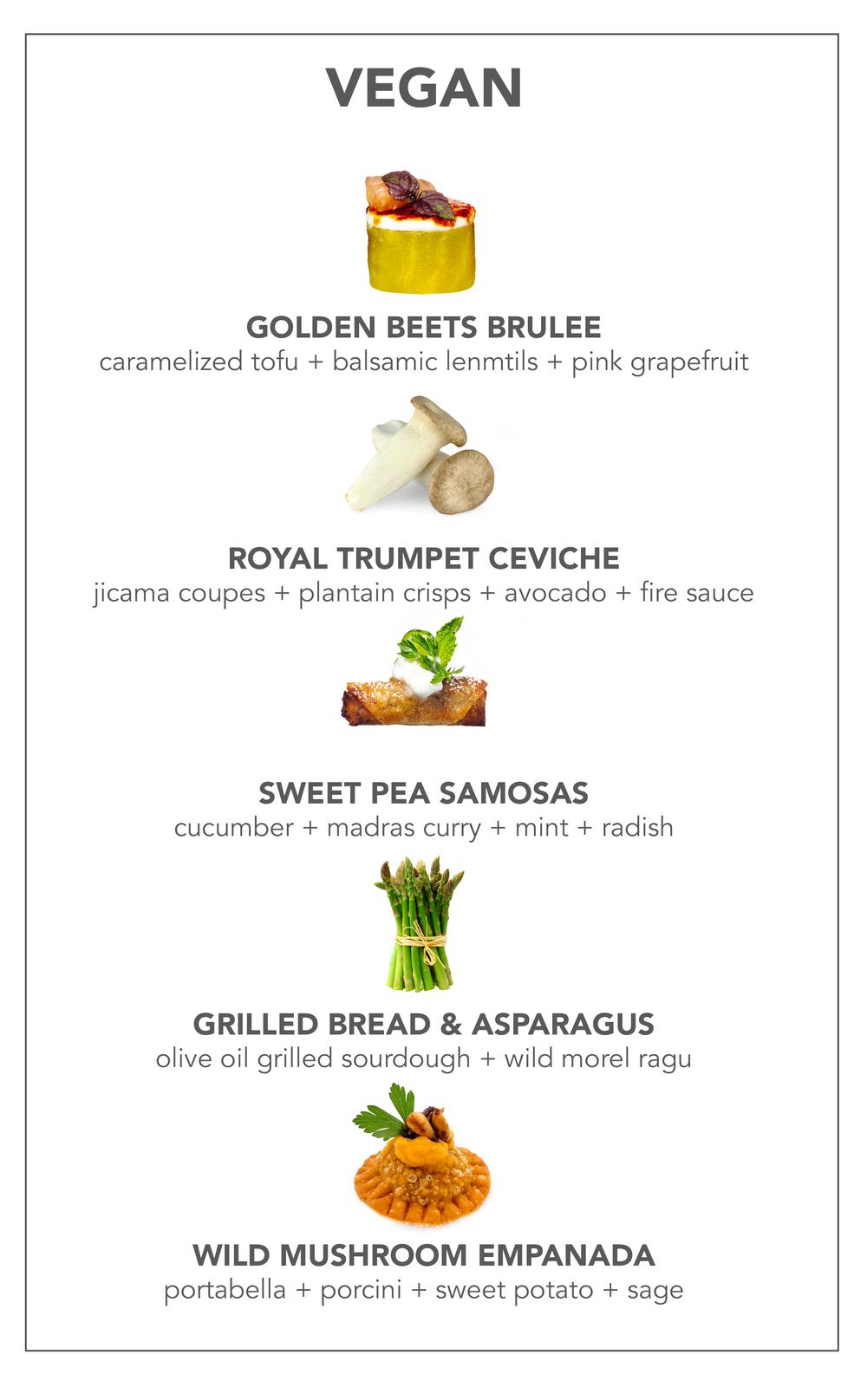 New York Spring Vegan Cocktail Menu