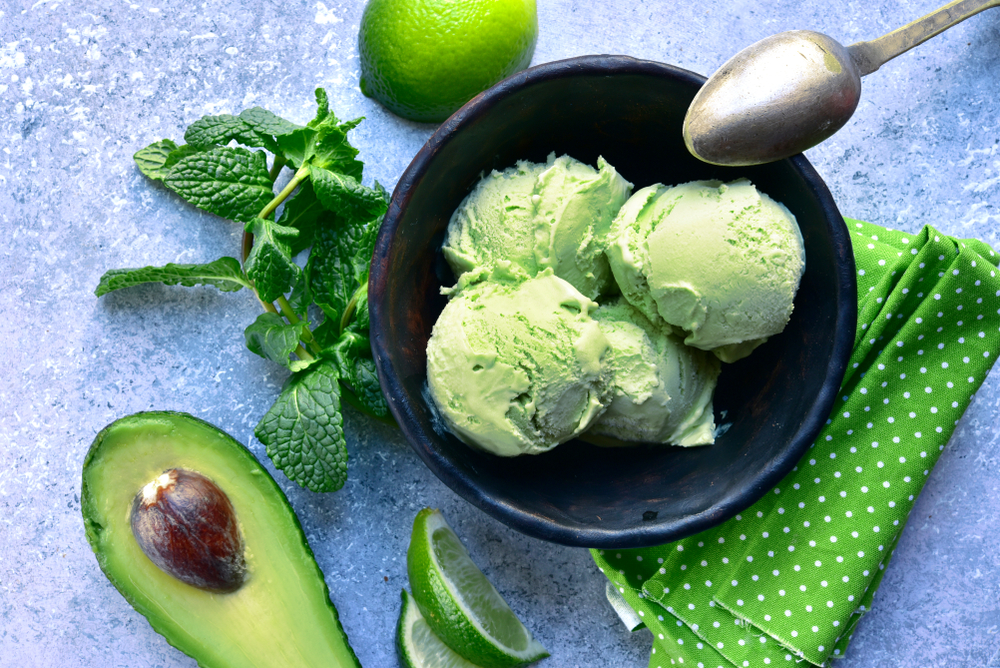 Vegan Mint Ice Cream