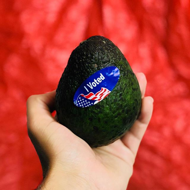 Double-tap if you #voted! #Repost @westpakavocado ・・・ #IVoted 🥑❤️🇺🇸💯 Did you? #election2018 #electionday