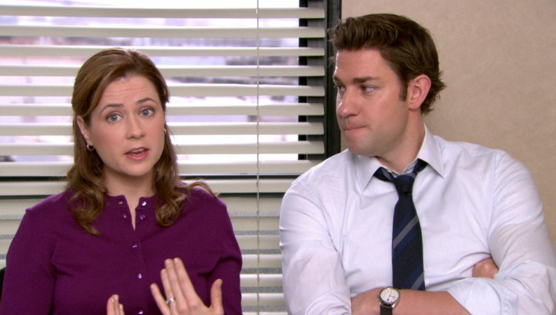 Jim and Pam Office