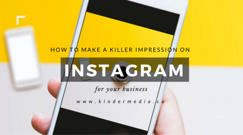 First Impression Instagram