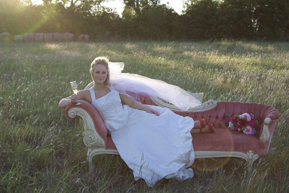 Sophia Fainting Sofa-$200 per 24 hour rental