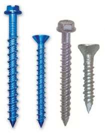 Tapcon Concrete Anchors Blue Climaseal™ & 410 Stainless Steel