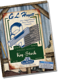 G.L. Huyett Key Stock