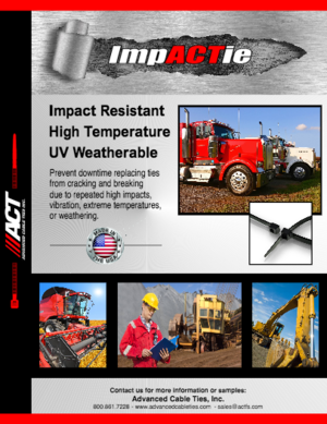 ACT Impact Resistant Cable Ties
