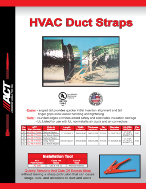 ACT HVAC Duct Straps