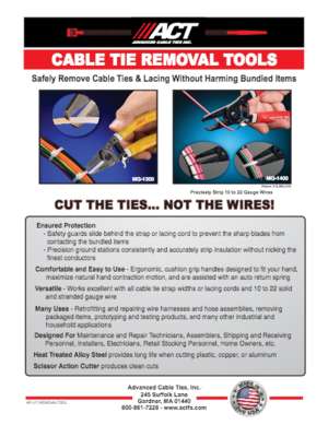 ACT Removal Tools