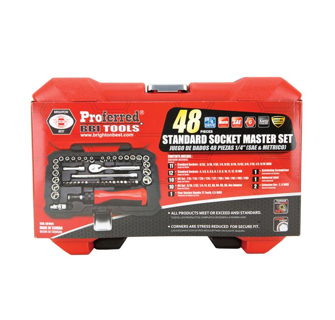 Socket Master Sets
