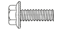 Serrated Flange Bolts