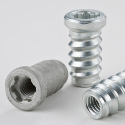 MaggCert® Threaded Insert - A thread forming insert for magnesium automotive components that allows machine screws to be applied at assembly and removed for servicing.