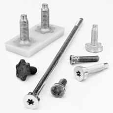 PlasTORX® Fasteners - Can be molded directly into plastic, replacing metal stamping and fastener assemblies. Engineered to provide high resistance to rotation and pull-out.