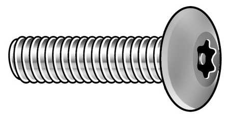 Button Head Pin-In Torx Tamper Resistant Machine Screw