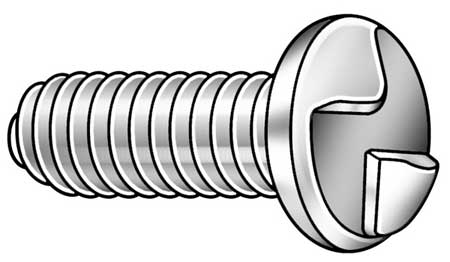 Round Head One-Way Tamper Resistant Machine Screw
