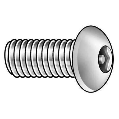 Button Head Pin-In Hex Tamper Resistant Machine Screw