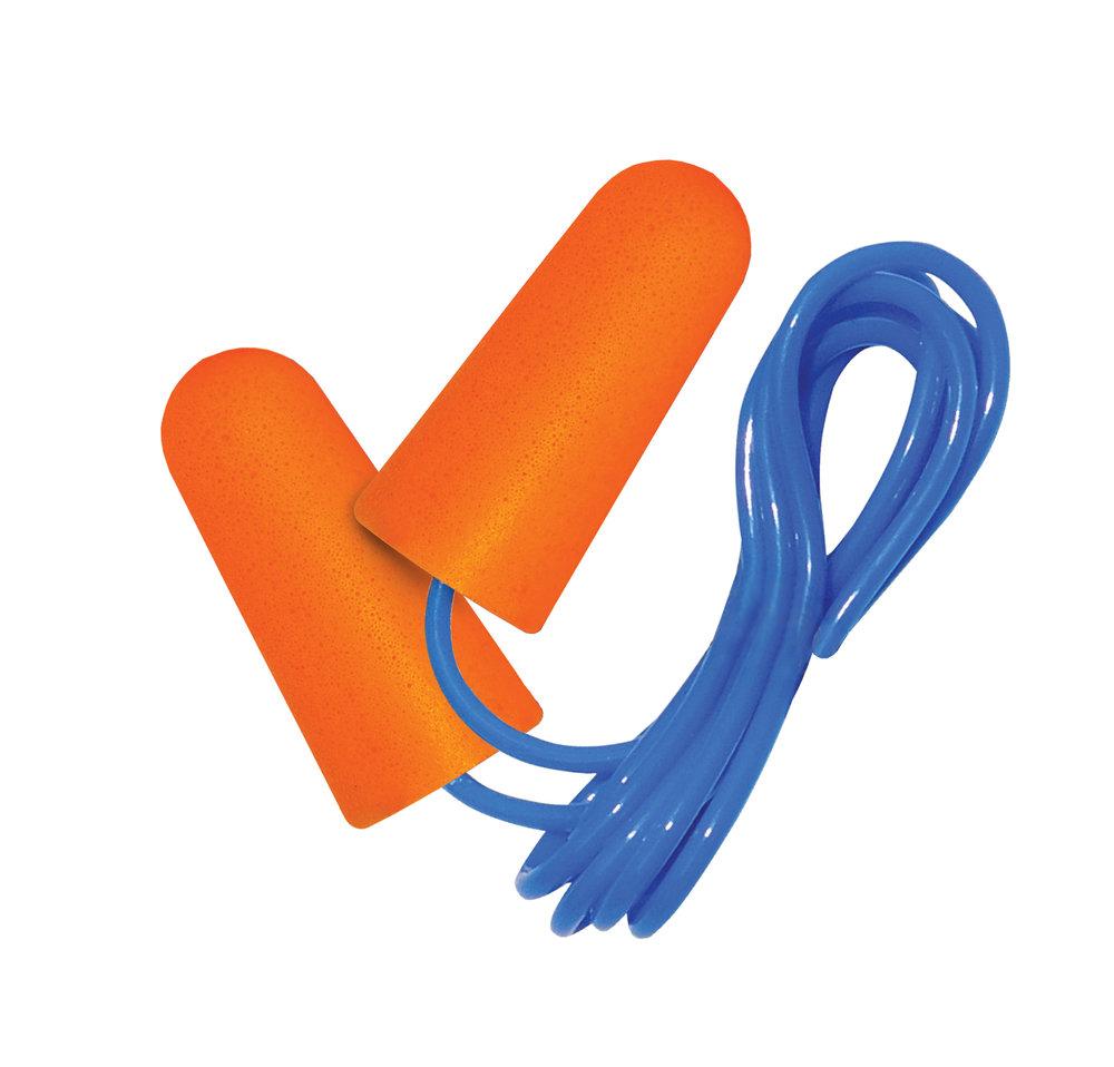 PU Foam Plugs with Cord