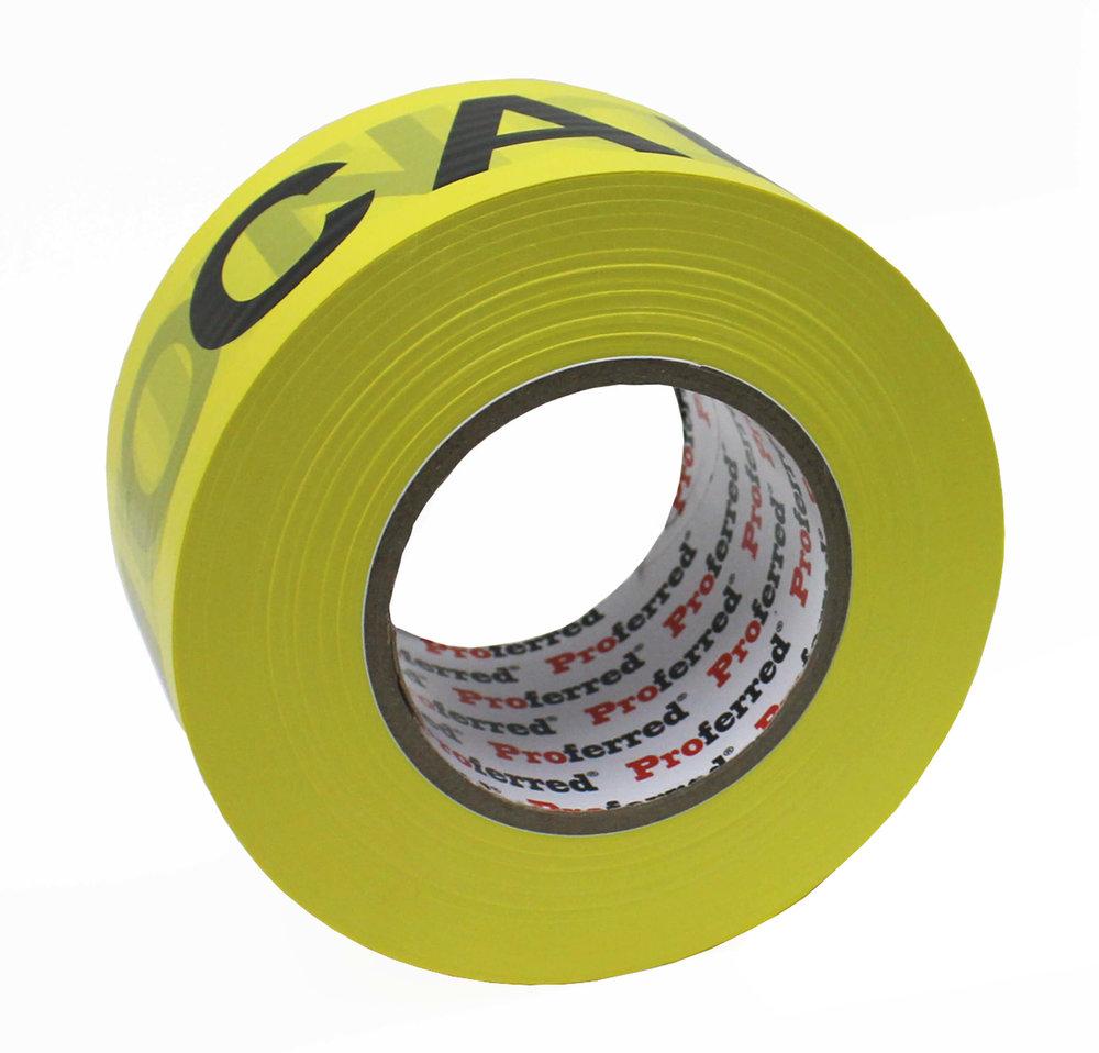 Caution / Danger Tape (Non-Adhesive)