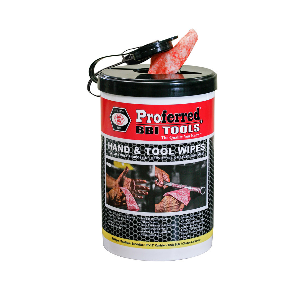 USA Hand Tool Wipes Canister