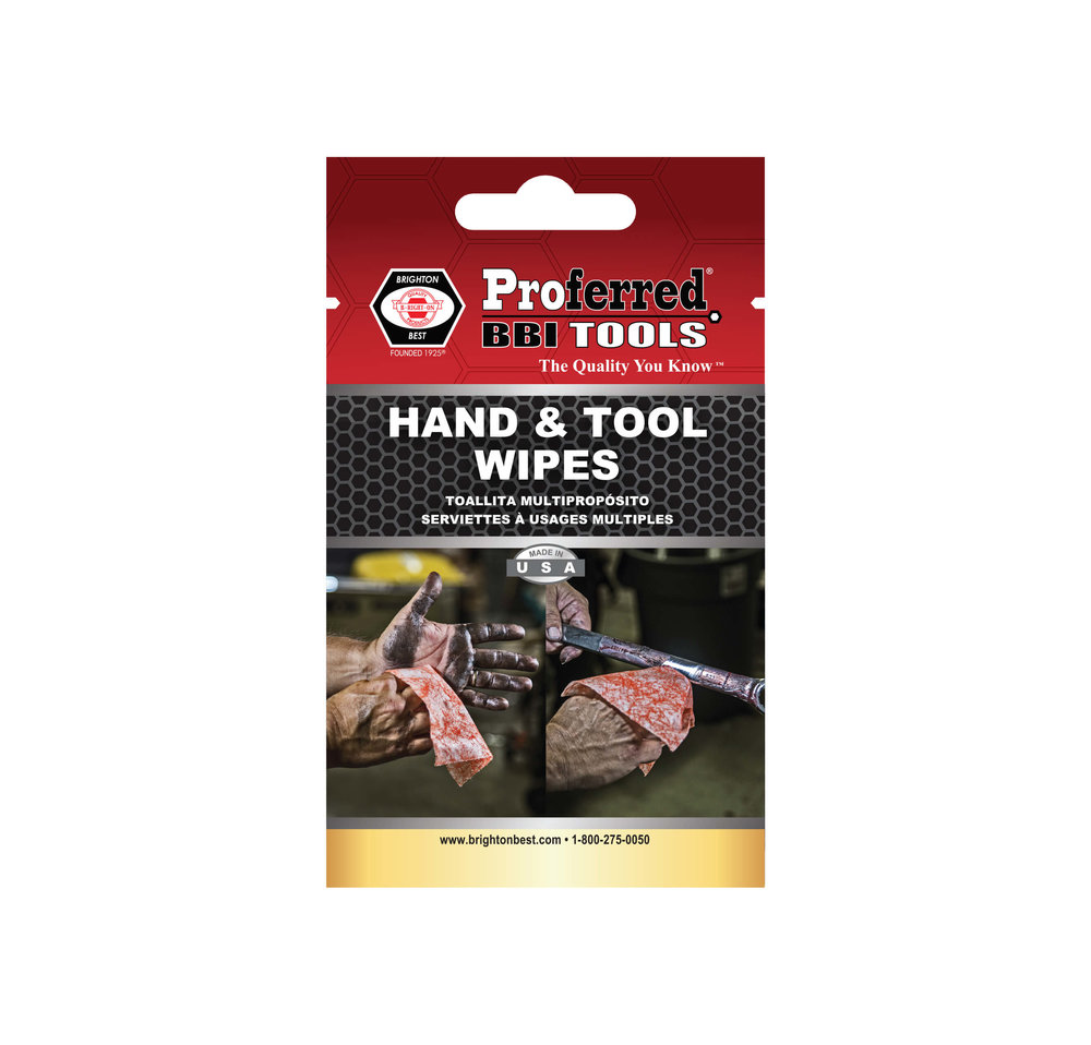 USA Hand Tool Wipes Single Pack