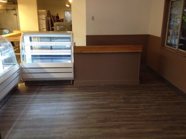 Tenant improvement for major retail brand. Retail store and office with new flooring, new painting, new store equipment, refrigeration and electrical.