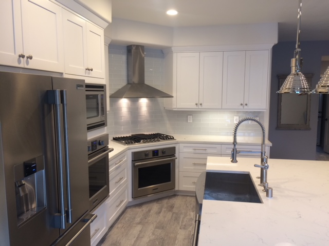 Residential home upgrade. Kitchen remodel with new cabinets, new granite countertop, plumbing, electrical and appliances upgrades.