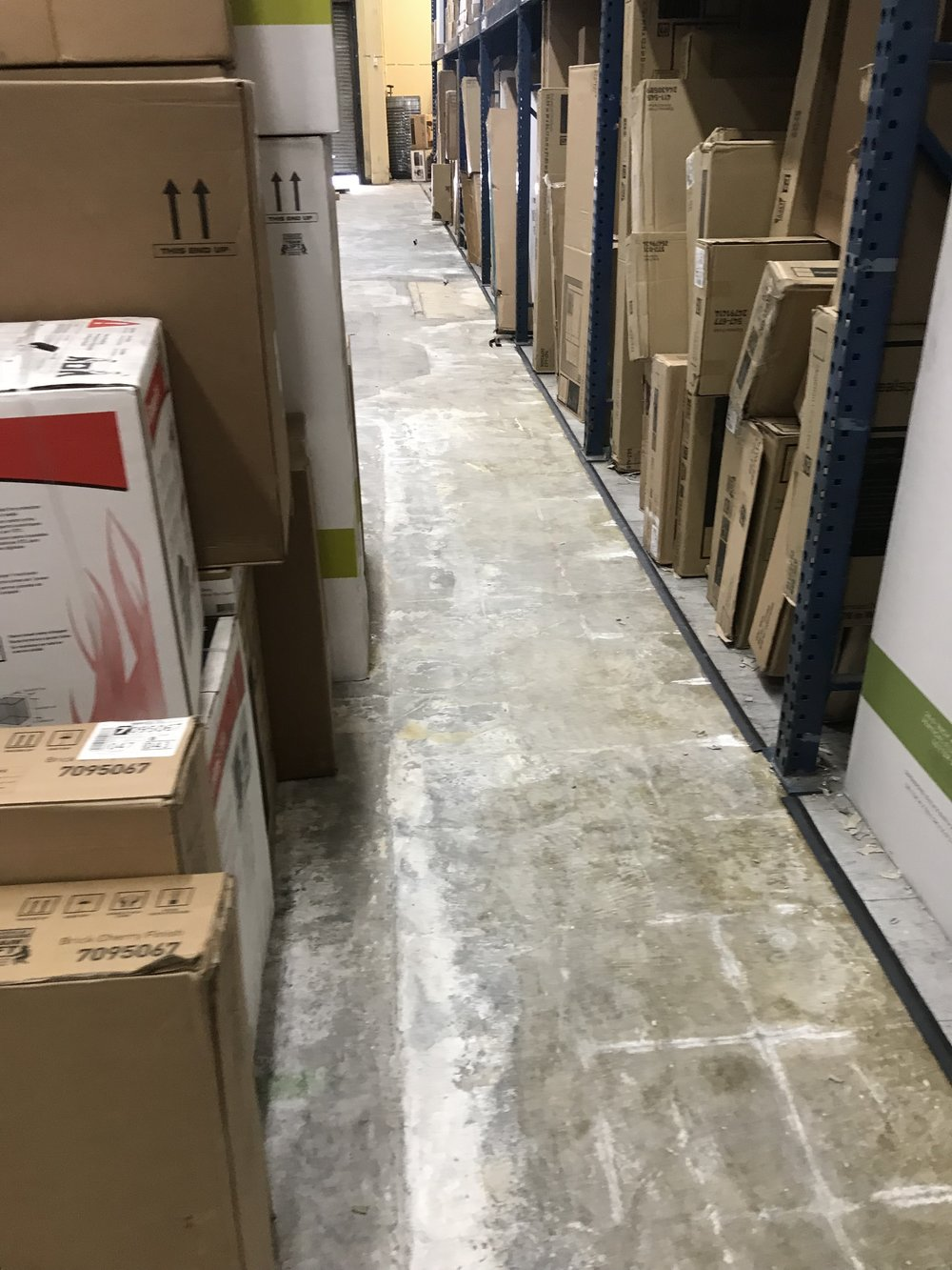Warehouse flooring and demolition project. Complete remodel of the warehouse to ensure safety and OSHA compliance for employees and staff.