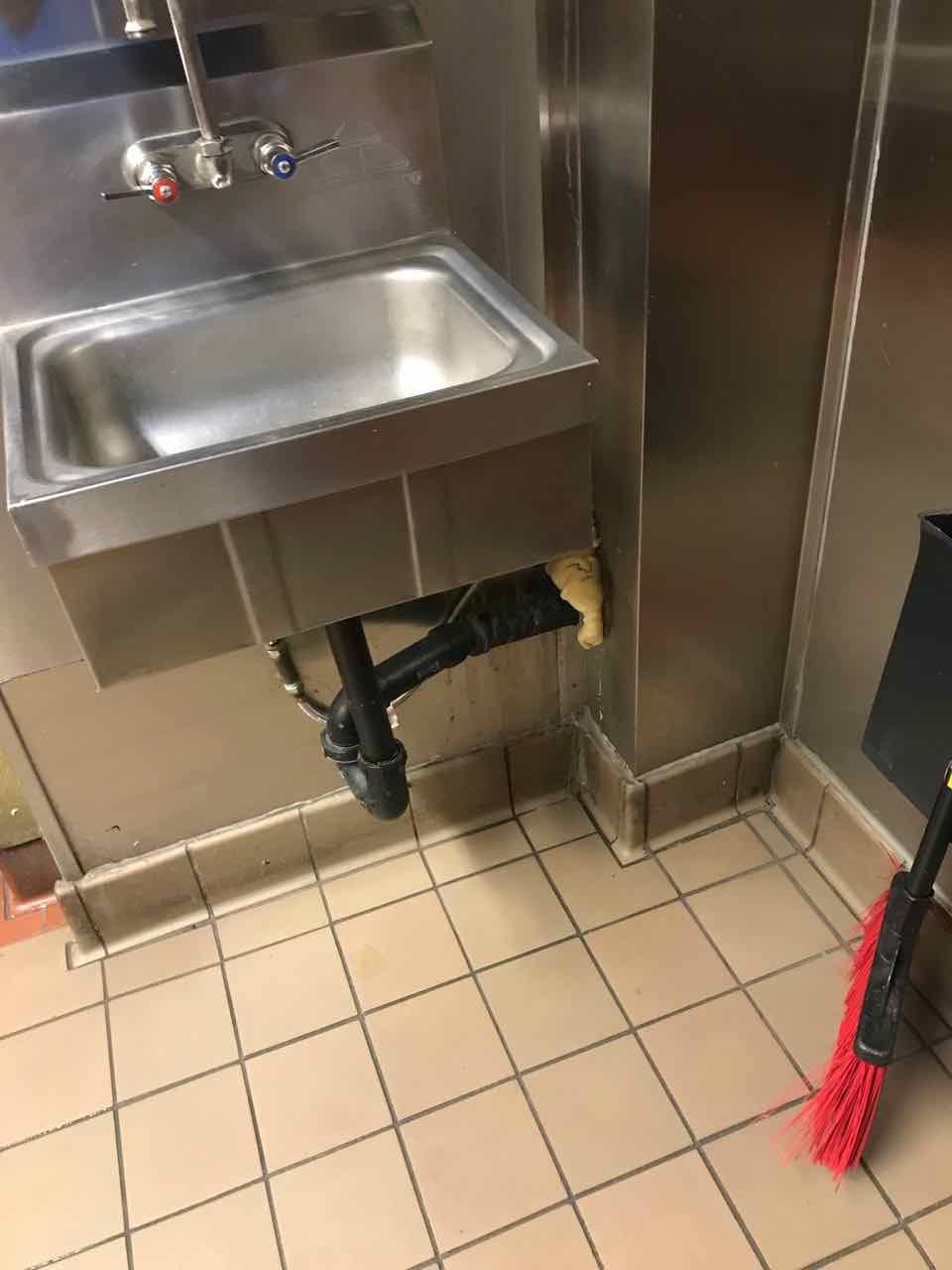 Commercial kitchen preventative and reactive maintenance for restaurant.