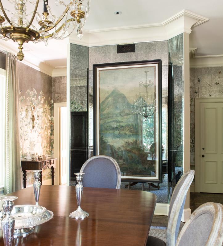 ©JulieWageRoss Lee Pruitt Interior Design Dining Room 01