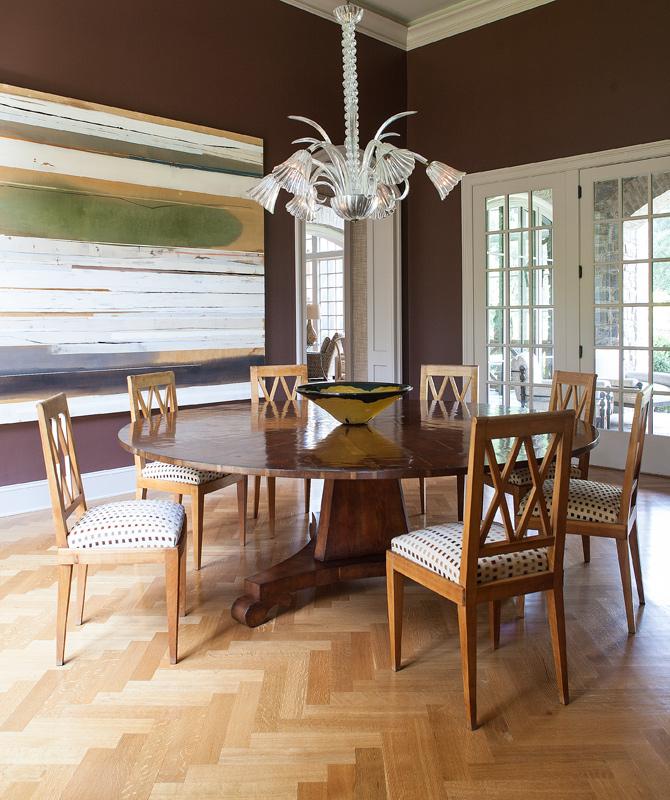 ©JulieWageRoss Lee Pruitt Interior Design Dining Room 06