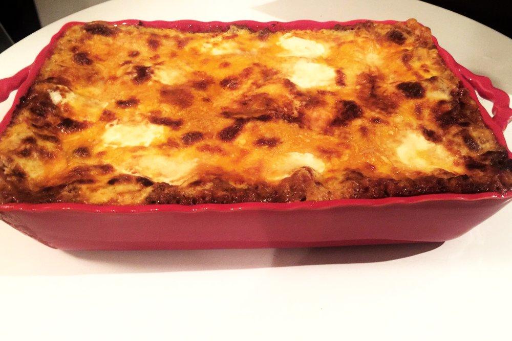 Lasagna 8pers  $64