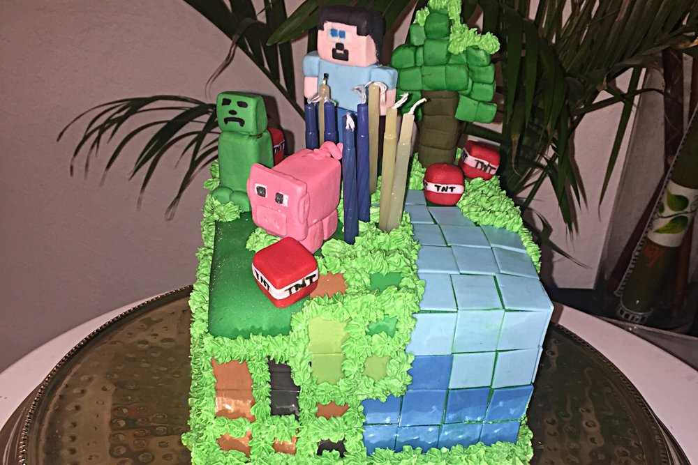 Fantasy Cake Minecraft (call for Pricing)