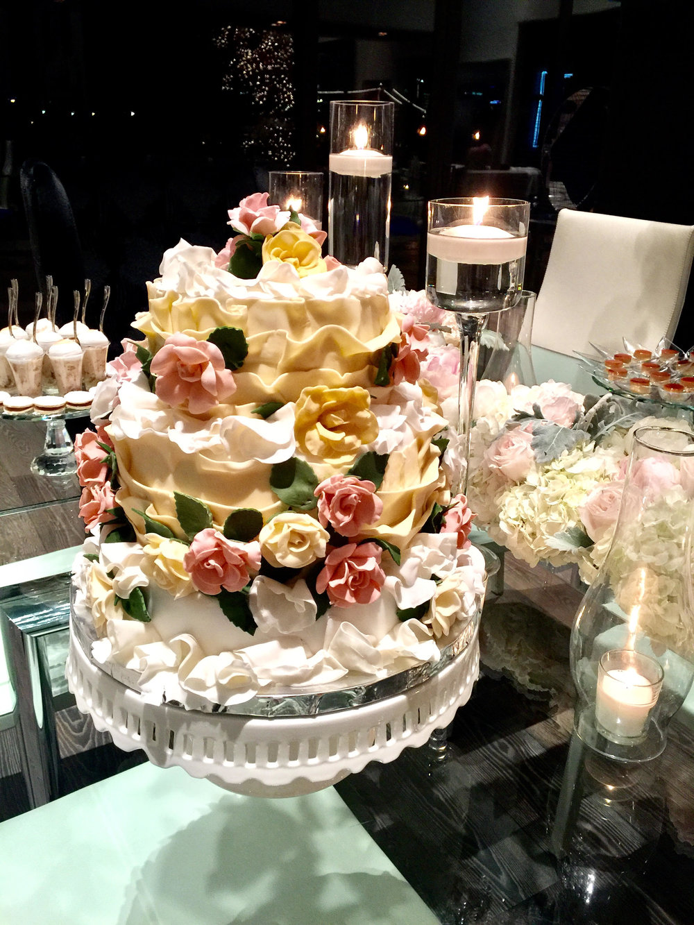 Torta de Novia en Fondant o Buttercream