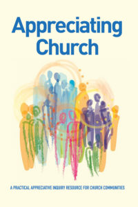 Front cover of the  Appreciating Church  resource book