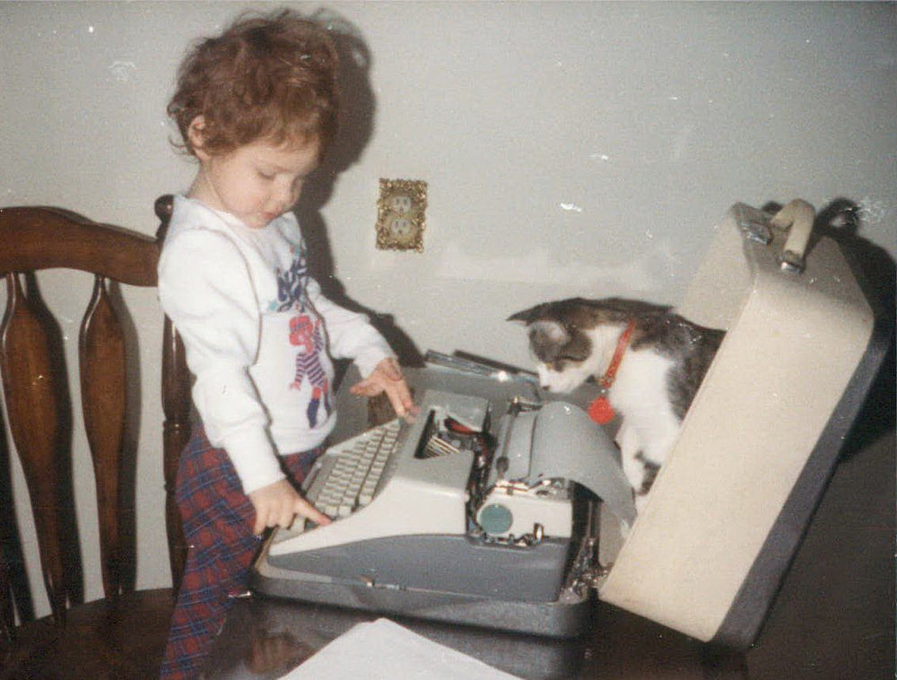 Before cats took over the internet, they were already all up in our typewriters.