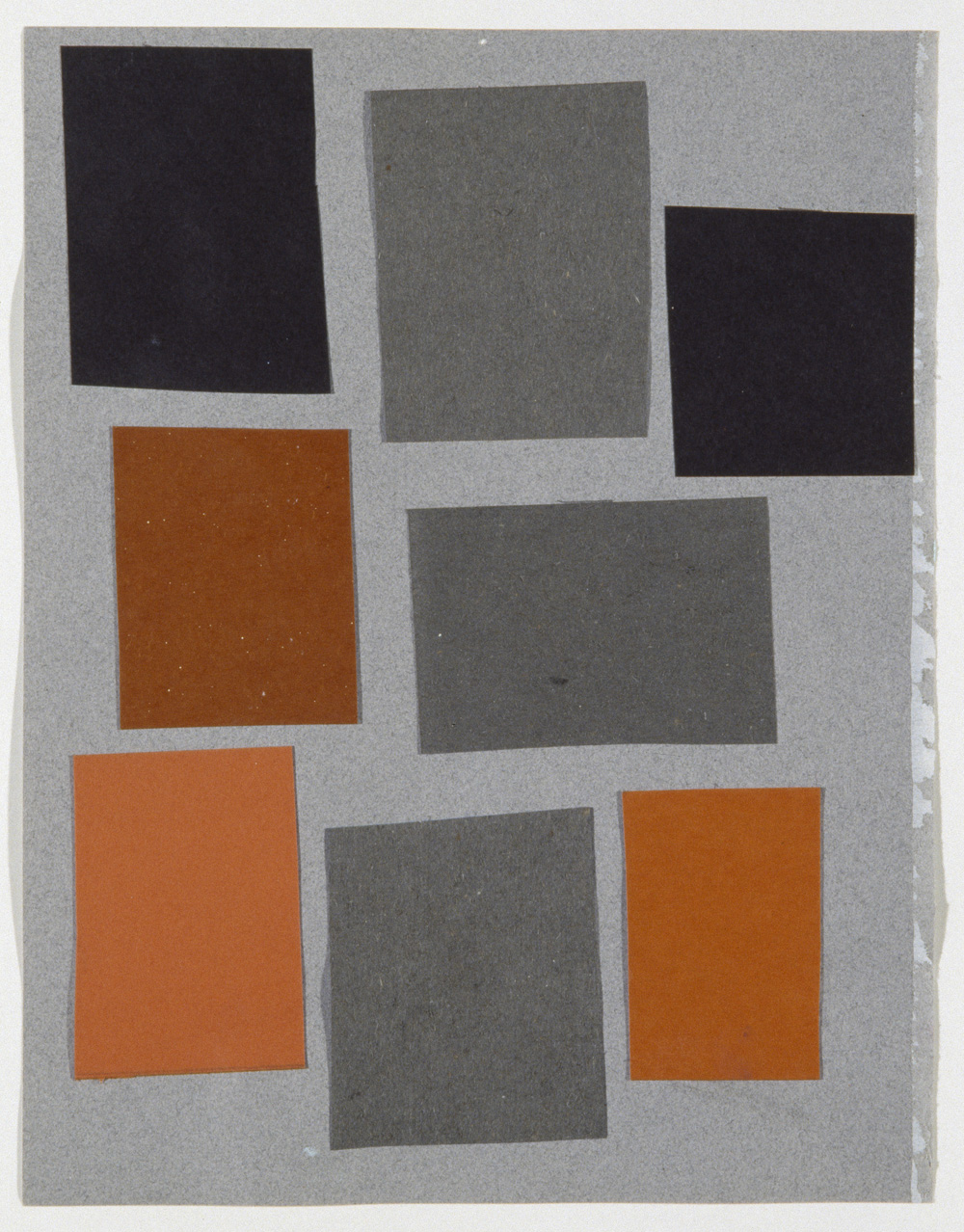 Richard Hawkins,  Abstract Array 1 , 2006, Collage, 27.7 x 21 cm, Courtesy Corvi-Mora, London
