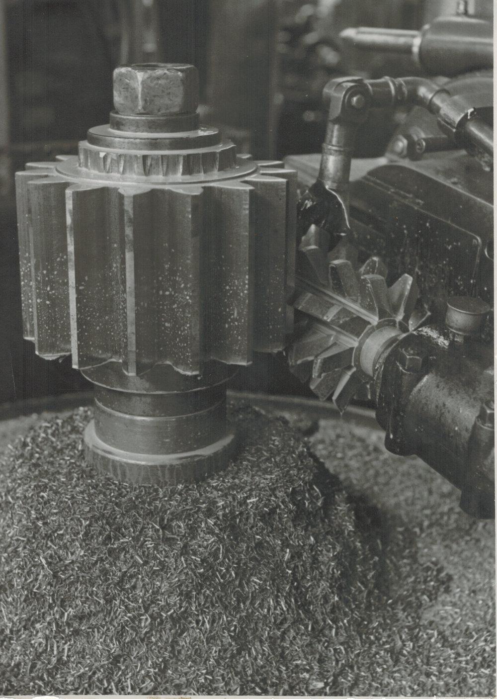 Albert Renger-Patzsch,  Study of a Machine Gear , c.1925-28, Gelatin silver print, 17.7 x 12.7 cm, Stamped verso