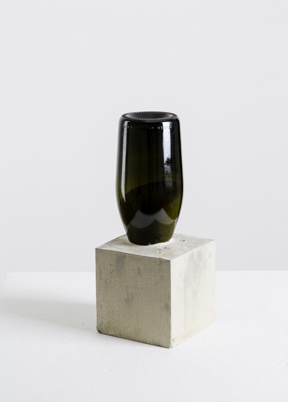Alexandre da Cunha,  1622101115 , 2015, Sand, bottle, concrete, 29.7 x 13 cm, Courtesy the artist and Thomas Dane Gallery, London
