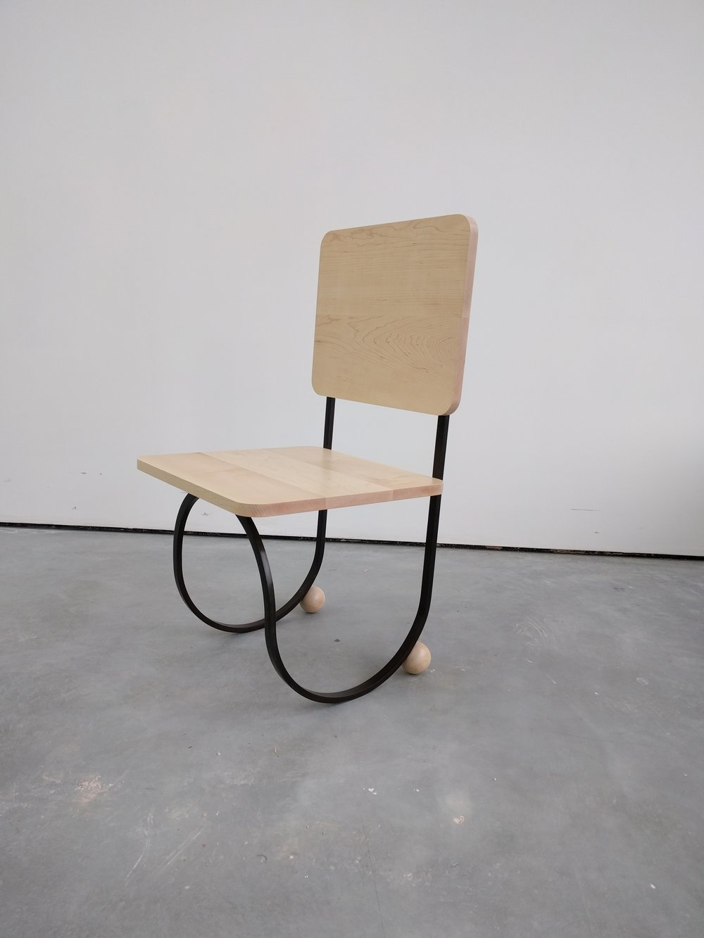 Charles Avery,  Untitled (Chair #2) , 2016, Patinated bronze, maple wood, 87.5 x 45 x 44 cm, AP from edition of 6 + 1 AP, Courtesy the artist, Grimm Gallery, Amsterdam and Pilar Corrias, London