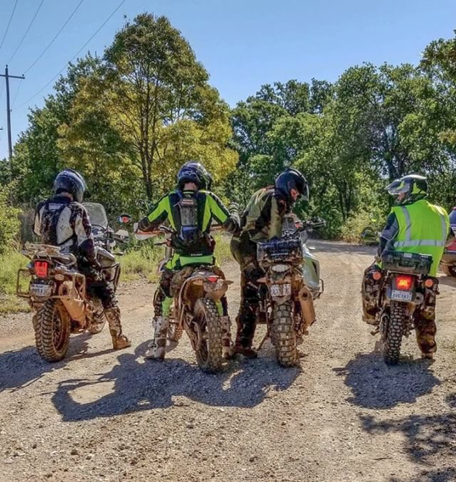 it's always fun when your riding buddies are cool to let you swap seats and check out each others bike