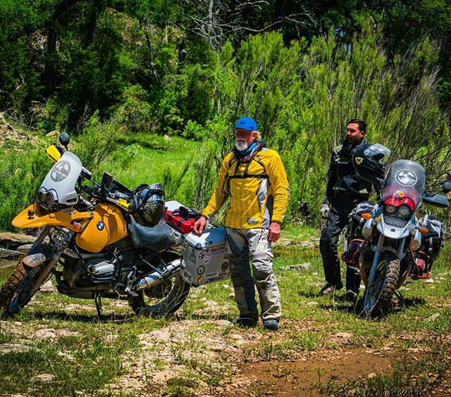 Our feed has been blowing up with excellent shots from @texasdualsportriders's ride with @adventuretejasmotorrad over Memorial Day weekend. In this picture the founders and guide leaders @messenjah07 @scavazos can be seen with their @motoscreenz decals on their windshields.  Thank you @the_ktm_brother and @adv_zach for so many good pictures!